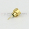 SMP Male (Plug) Full Detent Hermetically Sealed Connector .135 inch Pin Terminal, Solder