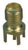 RF Coaxial Board Mount Connector -- 141-0701-201 -Image