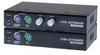 Linkskey Cat5 PS2 VGA KVM Extender Set -- LKV-E132 - Image