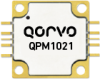 10 - 12 GHz 100 Watt GaN Power Amplifier -- QPM1021 - Image