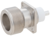 LC Female Connector Pin Terminal Solder Attachment 4 Hole Flange 0.930 inch Hole Spacing -- FMCN1524