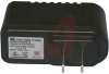 Adapter; 12 V; 0.8 A; 100 to 120; 1% (Typ.); 5% (Typ.); 1.63 in.; 3 in. -- 70195446 - Image