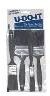 """RUBBERSET ECONOMY BRUSH PACK 2PC POLYESTER PLASTIC HANDLES (1-1/2""""A, 3"""") -- 99011502 -- View Larger Image"""