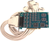 PCI 8-Port RS-232, RS-422, RS-485 Serial Interface -- 7804
