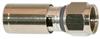 F PLUG (25 PACK) RG6 COAX 18 AWG -- 10-16019-237 -Image