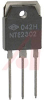 TRANSISTOR NPN SILICON 1500V IC-5A TO-3P CASE TF=0.4US W/INTERNAL DAMPER DIODE H -- 70215777
