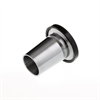 Vacuum Fitting - KF Flanges with Ground Cone -- View Larger Image