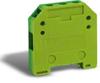 Grounding Mini Terminal Block: 24-10 AWG, green/yellow, 20/pk -- DN-MG10