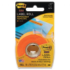 Super Sticky Removable Label Roll, 1 x 700, Orange -- 2600-O