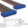 Rectangular Cable Assemblies -- C3PPS-2018M-ND -Image