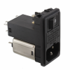 Power Entry Connectors - Inlets, Outlets, Modules -- 1144-1182-ND -- View Larger Image