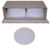 69MA0325 - Sartorius Glass Fiber Filters. Box of 200 (6906941) -- GO-11214-30 - Image