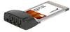 StarTech.com 3 Port CardBus 1394a FireWire Adapter Card -- CB1394