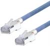 Category 5e Slim Aerospace Ethernet Cable High-Temp SF/UTP FEP Blue RJ45, 1.0ft -- T5A00017-1F -Image