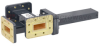 20 dB WR-112 Waveguide Crossguide 3 Port Coupler with CPR-112G Flange from 7.05 GHz to 10 GHz in Bronze -- FMWCT1032 - Image