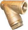 Cast Bronze Sil-Braze End Y Strainers -- 352 1/2MM