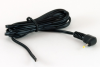 Cable, 1830 mm, 2.35x0.7x11 mm, 90° 50-00108 dc plug to stripped tinned, 24 AWG, 30-00003 wire -- 053-0195R (CA-2196) - Image