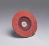 3M Cubitron 947D Type 27 Coated Ceramic Flap Disc - 120 Grit - 4 1/2 in Diameter - 7/8 in Center Hole - 61190 -- 051111-61190 - Image