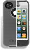 Apple iPhone 4G / 4S OtterBox Glacier White and Gray -- APL2I4SUNJ1