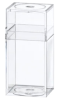 Clear Plastic Boxes with Lids -- 55288 - Image