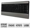 Adesso AKB-520UB SlimMedia Pro Keyboard - Built-In Multi-Car -- AKB-520UB