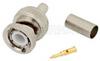 BNC Male Connector Crimp/Solder Attachment for RG55, RG141, RG142, RG223, RG400 -- PE4044 -Image