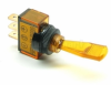 Illuminated Duckbill Toggle Switch (12v ) - Amber -- 70123 -- View Larger Image