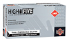 High Five Vinyl Gloves, Blue, Powder free, Medium, 100/box -- GO-86233-66