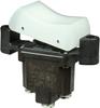 TP Series Rocker Switch, 1 pole, 2 position, Screw terminal, Flush Panel Mounting -- 1TP201-8 - Image