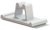 Cable Clamps - Adhesive Mount, Cord Clip -- WCB-250-01A-RT -- View Larger Image