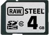 Hoodman - RAW Steel 4GB Class 10 SDHC