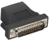 Secure Device Server Serial Adapter, RJ-45 to Modem DB25 Male -- LCA104 - Image
