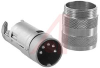 connector,circular din,str male cable conn,5s din silver plt solder contact,ip40 -- 70013377