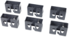 Cable Containment Brackets with PDU Mounting Capability for NetShelter SX -- AR7710