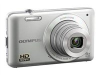 Olympus VG-120 Silver 14mp Digital Camera - 3in LCD - 5x Optical Zoom (26-130mm) -- 228190