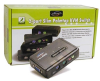 Linkskey LKV-S02ASK KVM Switch - 2-port PS2, Audio, with Cab -- LKV-S02ASK