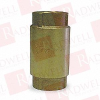 CAMPBELL MANUFACTURING CV-6T-1-1/2 ( CAMPBELL MANUFACTURING, CV-6T-1-1/2, CV6T11/2, 5YM30, CHECK VALVE 1-1/2IN, ) -Image