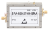 High Power Amplifier at 4 Watt P1dB Operating from 1 GHz to 2 GHz with 45 dBm IP3, SMA Input, SMA Output and 35 dB Gain -- SPA-020-27-04-SMA -Image