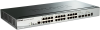 28-Port Gigabit Stackable SmartPro PoE Switch including 2 SFP and 2 10GbE SFP+ ports -- DGS-1510-28P -- View Larger Image