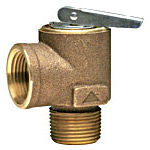 Mechanical steam release valve