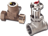 Series 228 Metallic Tee Flow Sensor -- Model 228CB