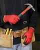 NorthFlex Red Foamed PVC-Coated Gloves > SIZE - L > UOM - Dozen -- NF11L