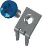 Slim-Line PC Screw Terminal, 45°- Blue screw Unassembled
