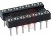 Socket, DIP;14Pins;Low Profile;Open;Solder Tail;0.3In.;Beryllium Copper;Tin/Lead -- 70206321 - Image