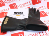 NOVAX INDUSTRIES 150-00-11/9 ( RUBBER INSULATING GLOVES SIZE-9 BLACK 11IN LONG ) -Image