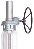 HOB Series Hand Operated Bevel Gearbox -- HOB210