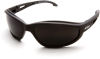 Edge Dakura Black Smoke Polarized TSM216 Safety Glasses -- TSM216