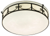 ES1246-ORB Flush Mounts-Drum Shades -- 617026