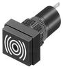 EAO - 31-801.002 - TRANSDUCER, BUZZER, 2KHZ, 88DBA, 26VDC -- 399760