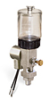 "(Formerly B1763-3X00), Single Feed Electro Lubricator, 2 1/2 oz Polycarbonate Reservoir, 1/8"" Male NPT, 120V/60Hz -- B1763-0021B1S11206W -- View Larger Image"